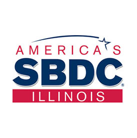 Local First Springfield and Illinois Small Business Development Center Logo